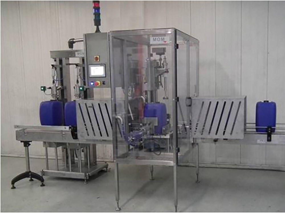 Monobloc high speed filling machine
