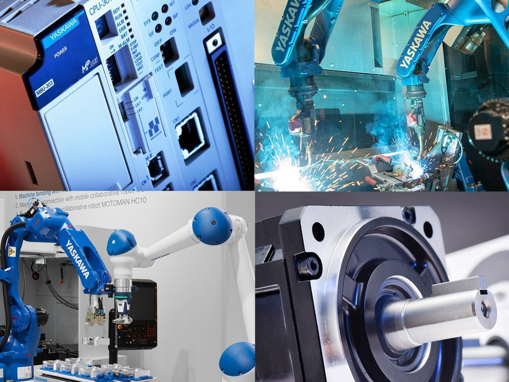 Industrial robotics and automation YASKAWA solutions